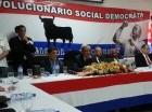 Hatuey De Camps Jiménez encabezó la asamblea del pasado domingo.