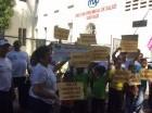 Actividad contra el dengue realizada por Salud Pública.