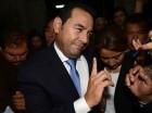 El presidente electo de Guatemala, Jimmy Morales.