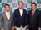 Mauro Osto, Mauricio Esponda y Miguel Guerra.