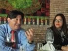 Abraham Garrido y Tamara Vargas, de  Dominican Power Partners.