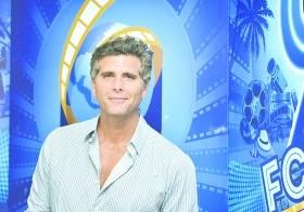 """Christian Meier se encuentra en el país promocionando la cinta """"Magallanes""""."""