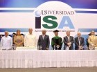 Graduación en el ISA.