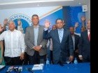 Kaki Martí, Felipe Polanco, Liondy Ozoria, Omar Martí y Luís Manuel Aguiló. Cortesía: Cristian Santana