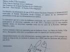 Carta del PLD al PRSC.