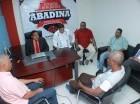 La reunión de ayer tuvo lugar en la sede de la Abadina.