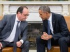 El presidente francés Francois Hollande viajó a Washington como parte de un esfuerzo diplomático en busca de que Estados Unidos y otros países lancen una campaña contra el grupo Estado Islámico, que se atribuye los ataques a París donde murieron 12