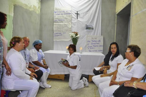 Enfermeras en segundo día de paro