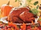 El pavo es la comida representativa de esta celebración anglosajona.
