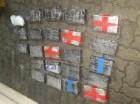Paquetes de droga decomisados por la DNCD que irían a Puerto Rico.