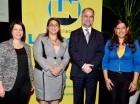 Karina Castellanos Ureña, Paola Senior, Alejandro Fernández W y Flor Vásquez Díaz.