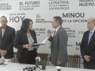 Minou Tavarez Mirabal juramenta en Opción Democratica a Danilo Cruz Pichardo.