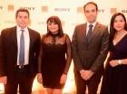 Fernando Mendoza, Clara Francisco, Abdelhakim Boubazine e Isleyda Peña.