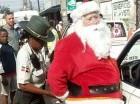 Santa Claus detenido por agente de AMET en simulacro (imagen @comentandologue).