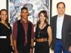 Indhira Hernández, Jhonathan Rosa Marte, Bingene Armenteros y Ángel Urrely.