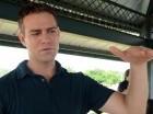 Theo Epstein, presidente de operaciones de los Cachorros, durante su entrevista con elCaribe en Boca Chica.