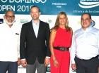 Persio Maldonado (izquierda), Randolph Luna, Laura Fernández y Roberto Rizik.