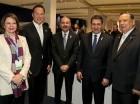 El presidente Danilo Medina compartió con sus homólogos de otros países.