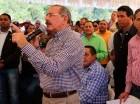 El presidente Medina visitó Azua ayer.
