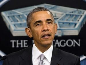 Barack Obama, presidente de EU.