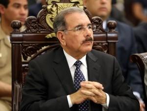 El presidente Danilo Medina. Foto archivo.