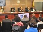 El pleno de la Junta Central Electoral se reunió ayer en la mañana.