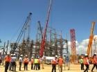 Grandes componentes del proyecto de generación ya se encuentran en el país, para ser instalados.