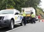 En la autopista del Nordeste se han registrado varios accidentes.