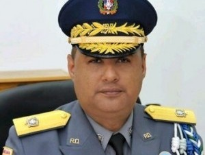 El vocero de la Policia Nacional, general Máximo Báez Aybar.