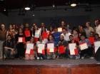 """Ganadores de """"Berklee  en Santo Domingo"""", quienes fueron seleccionados entre 200 estudiantes."""