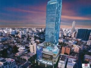 Diseño de hotel Hard Rock de 40 pisos que será construido en la avenida Abraham Lincoln.