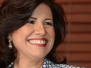 Margarita Cedeño de Fernández es la dirigente del PLD mejor valorada después del presidente Medina, según encuestas.