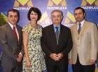 Luis Arturo Hernández, Mercedes Ramos, Román Ramos y Jesús Ramos Menéndez.