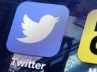 El logotipo de la app de Twitter en la pantalla de un iPhone.