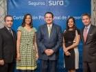 Juan Carlos Peña, Gina Jiménez, Carlos Ramón Romero y Rosa Sandoval Polan.