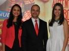 Vanessa Estrella, Félix Aracena y Laura Pimentel.