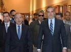 Luis Abinader se reunió ayer con el expresidente de México, Felipe Calderón.