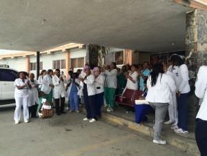 Se cumple paro en hospitales del Distrito y la provincia Santo Domingo