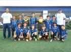 Integrantes del equipo de fútbol del Saint Joseph School.