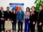 Miembros de la OCDE y la OPTIC durante el encuentro.