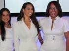 Yadira Serulle, Joelle  H. Coulange y Rosa María Valerio.