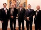 Ito Bisonó, Freddy Ginebra, Aníbal de Castro, Fernando Fernández y Cayo Claudio Espinal.