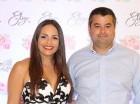 Elisa Pimentel y Ronny Camilo.
