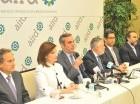 Luis Abinader se reunió con los directivos de la Asociación de Industrias a quienes explicó sus planes para el sector.