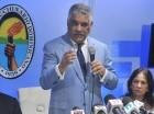 Miguel Vargas habla tras recibir a Neney Cabrera en la Casa Nacional.