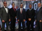Magin Ferreiro, Francisco Deprado, Roberto Rodríguez, Marucho Méndez y Junior Tolentino.