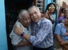 Salcedo inició su campaña con un mano a mano en Villa Juana.