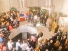 Roberto Rosario habló luego de que el pleno de la JCE depositara una ofrenda floral en el Altar de la Patria.