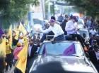 Caravana de Danilo Medina.