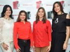 Pilar de Estévez, Catherine Leyba, Laura Amelia Fernández y Pily Estévez.